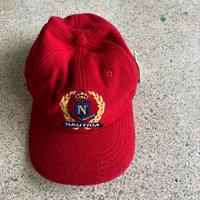 Deadstock● 1990s Nautica (Free) Wool 6 Panel Cap Red ノーティカ ウール キャップ 帽子