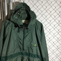 "1990s Nike "" ACG ""Nylon PUllover Jacket 2-Tone Size M 格子 グリーン ナイキ エーシージー プルオーバージャケット"