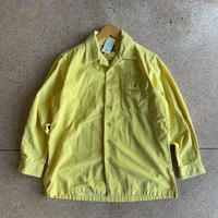 USED● POLO COUNTRY Size M 太畝 コーデュロイ 長袖シャツ イエロー