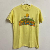 """USED● 1970s CASCADE MOUNTAIN """"NEWMEXICO"""" Tシャツ イエロー ニューメキシコ ゲレンデ"""