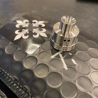 Titanium SLAM Cap by AB MODZ DESIGN