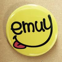 【ラスト1つ】emuy スマイル缶バッジ