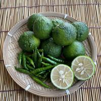 農薬不使用★青柚子と青胡椒