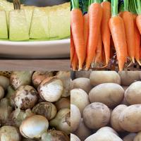 無農薬お野菜と椿メロンコラボセット