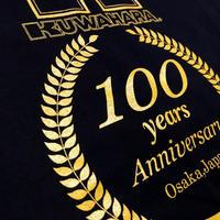Kuwahara 100 years anniversary T-shirts(Tシャツ)