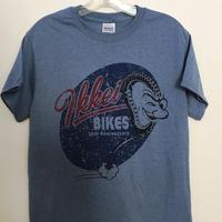 IKKEI BIKES 10anniversary Tシャツ  Indigoblue