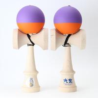 【山形工房】推奨けん玉 REShape2  紫&オレンジ