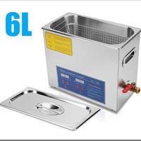 超音波洗浄器 6L デジタル ヒーター/タイマー付き レコード洗浄サイズ