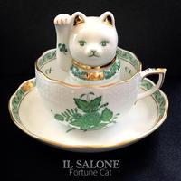 インドの華風招き猫ビーズ盛りLESSON