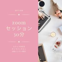 【ストレス0妊活 オンラインサロン0期メンバー限定】追加分 zoomセッション30分
