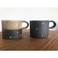 村上直子さん/黒灰釉筒型マグカップ