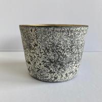 大森健司 / 銀彩黒土カップ