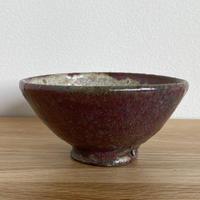 加地学さん/碗(赤茶色)