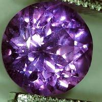 パープルサファイア 0.775ct ◆ソーティングメモ付 非加熱◆ non heated Purple Sapphire