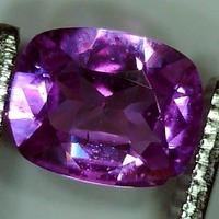 ピンクサファイア 0.693ct ◆非加熱証明書付◆ non heated Pink Sapphire