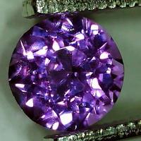 パープルサファイア 0.892ct ◆ソーティングメモ付 非加熱◆ non heated Purple Sapphire
