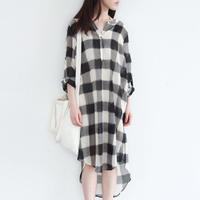 leisure long shirt dress