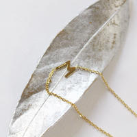 clavicle M chain necklace