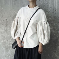 candle sleeve loose shirt