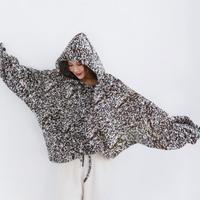 hood wool oversize sweater