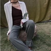 3colors-neck-strap knit vest