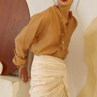 2colors - wrinkl details blouse