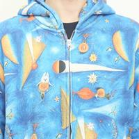 武井武雄xグラニフ ジップパーカー青の魔法(pl_4205_07)