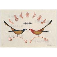 ポストカード 鳥の連作No.7(pl_4281)