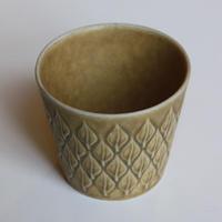 【ヴィンテージ】イェンス・H・クィストゴー 「レリーフ」シュガーカップ I-0000
