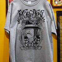 Cholo-Fudo Tee shirt (grey)