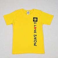 コットンキッズTシャツ (イエロー/サイズ110・120・130)