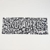「SNOW VIBES」フェイスタオル