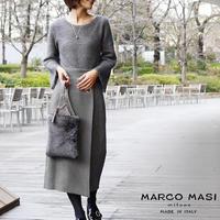 【期間限定価格】MARCO MASI 3038 [マルコマージ] ファーバッグ ファー ハンドバッグ ブランド バッグ 手提げ 小ぶり レザー 本革 [イタリア製]