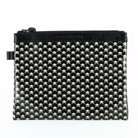 【STEPHANE VERDINO】HEXAGONE   POCHETTE-L    BLACK