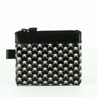 【STEPHANE VERDINO】HEXAGONE   POCHETTE-S    BLACK