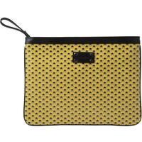 【STEPHANE VERDINO】HEXAGONE  MAXI POCHETTE  YELLOW