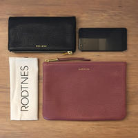 【RODTNES】 ロドネス Large Pouch Dusty rose クラッチバッグ ポーチ