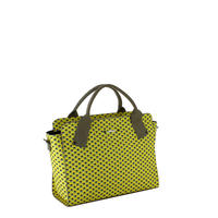 【VERDINO  PARIS】ヴェルディーノ Hexagone Lady bag   Yellow/Grey(ヘキサゴン  レディバッグ  イエロー/グレー)