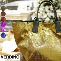 VERDINO Light Papillon ヴェルディーノ ハンドバッグ レディース キラキラバッグ クラッシュ加工 ママバッグ トートバッグ 正規店