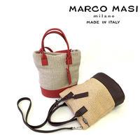 MARCO MASI 3032 [マルコマージ] バッグ  縦型ミニトート レディース ハンドバッグ かごバッグ 小さいサイズ [イタリア製]