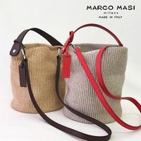 MARCO MASI 3018 並行輸入品 [マルコマージ バッグ]  2way ショルダーバッグ ハンドバッグ レディース かごバッグ バケツ型バッグ [イタリア製]