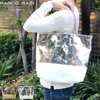 MARCO MASI MILANO  3036 BORSA CRACCATO メタリックトート-L マルコマージ ハンドバッグ バッグ ブランド 鞄 キラキラ トートバッグ コンパクト