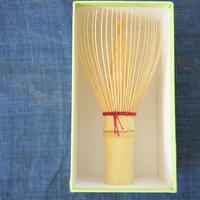 大和國高山茶筅、(Bi's Japanese Giftsオリジナル)白竹単色エンジ、谷村丹後