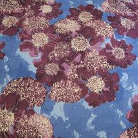 sc touch concept art  敷布団カバー (シングルロングサイズ) Gimlet(赤紫×薄青紫)、OTOBE、日本製