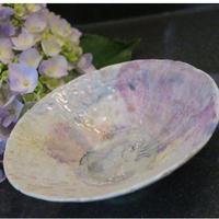 平茶碗 「紫陽花」一点モノ 神谷麻穂(高岡市)