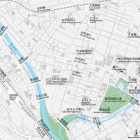 岩手 盛岡 ベクター地図データ(eps) 日本語/英語 並記版