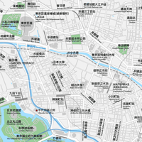 東京 千代田区北 ベクター地図データ(eps) 中国語(繁体字) / 英語 並記版