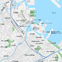 神奈川 横浜 マップ PDFデータ
