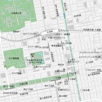 北海道 札幌 マップ PDFデータ
