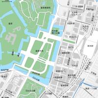東京 丸の内・皇居マップ PDFデータ